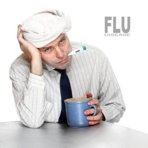 sick male worker shutterstock_129858860