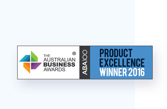Winner of the Australian Business Award for Product Excellence (Rapid Contractor Management)
